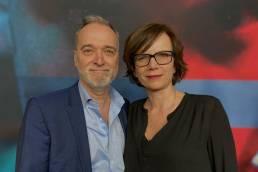 Sabine de Mardt und Andreas Bareiss bei der Premiere von