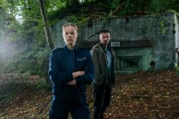 Gaumont Drehstart Westwall - Emma Bading und Jannik Schümann