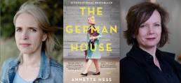 Deutsches Haus Autorin Annette Hess (links) und Gaumont Geschäftsführerin Sabine de Mardt